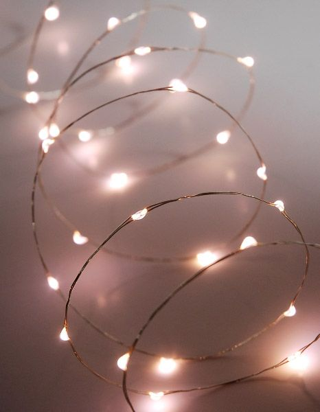 Micro Led String Lights Led Lights 10 Feet Silver Wire 60 Lights Warm White Electric Outdoor
