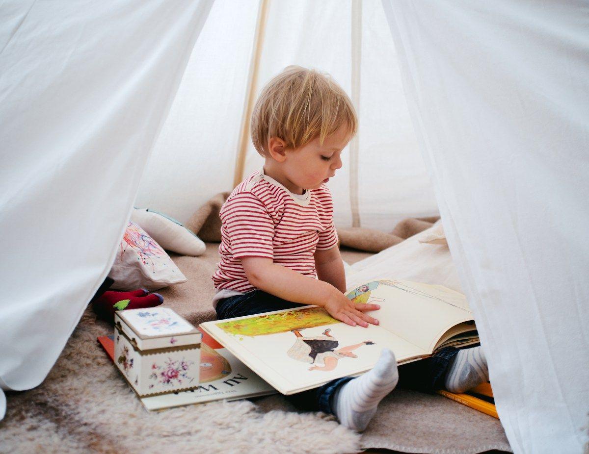 DIY: Tipi fürs Kinderzimmer
