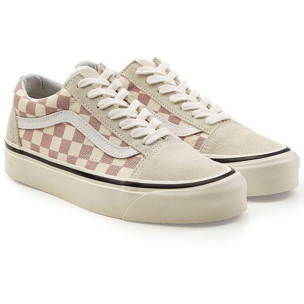 d264a4b4d3b Vans Anaheim Factory Old Skool 36 DX Platform Sneakers ($88) ❤ liked on  Polyvore