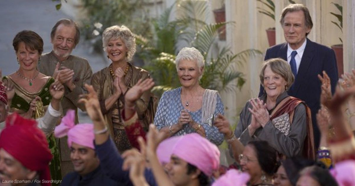Best Exotic Marigold Hotel Stars' Quotes on Aging