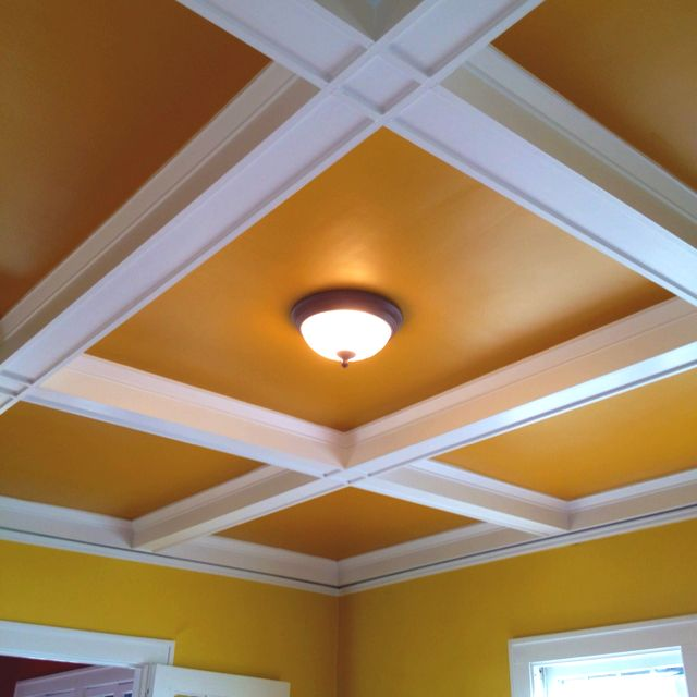 My living room ceiling...