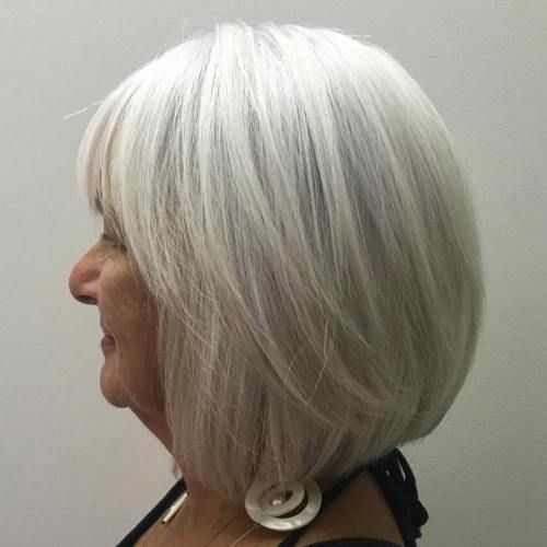 The Best Hairstyles And Haircuts For Women Over 70 Shampoo For Gray Hair Womens Haircuts Hair Styles