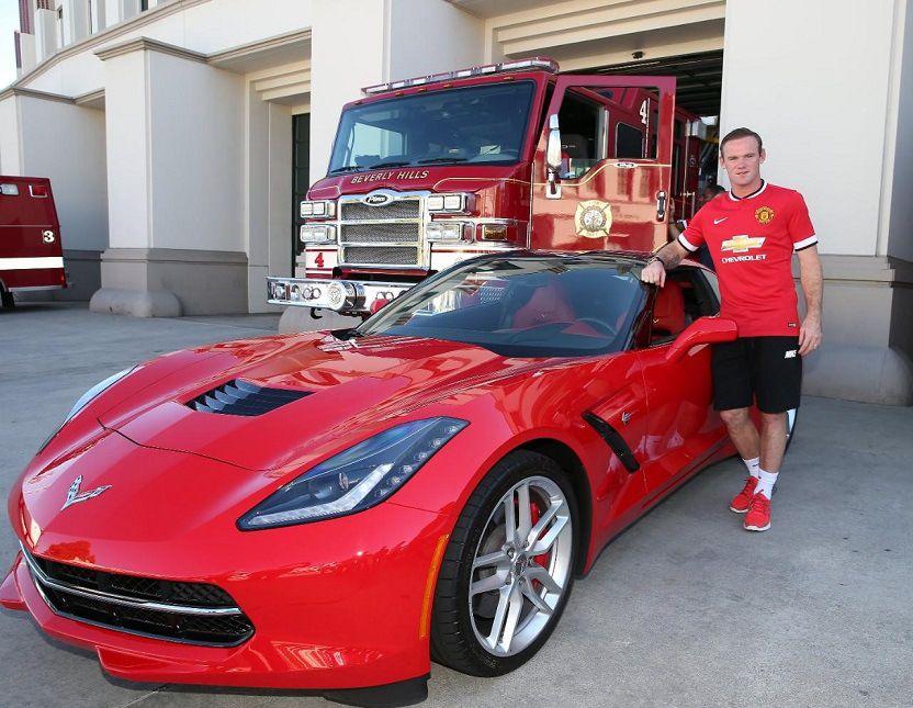 Jugadores Del Manchester United Se Niegan A Conducir Coches Camaros & Corvettes GRATIS