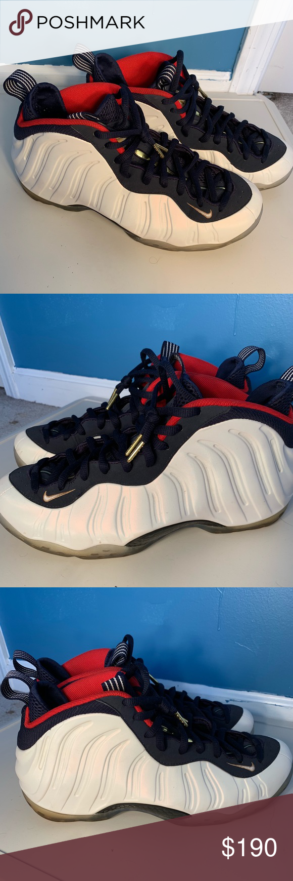 uk availability 4f2bf 0e55d Nike Foamposite Olympic size 11 Nike foamposite 2016 ...