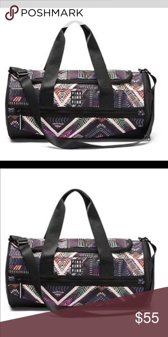 Pink By Victoria Secret Geo Gym Bag  Unused   Pink By Victoria Secret Geo Gym  Bag  Unused   PINK Bags Travel Bags d0713863a5