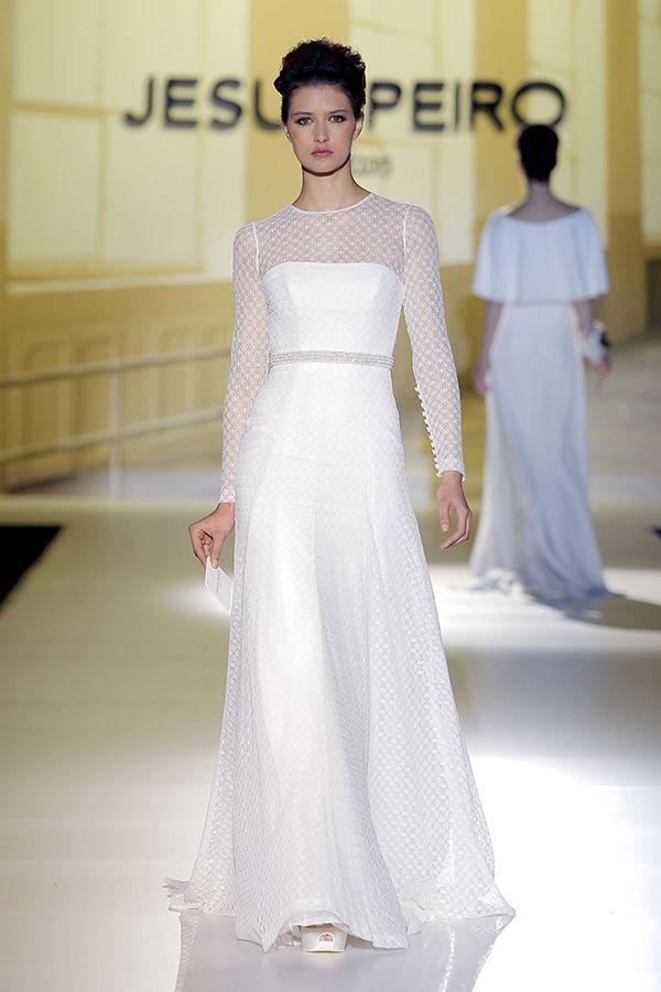 ef20a4417 Vestidos de novia de Jesús Peiró 2014  boda  vestidos