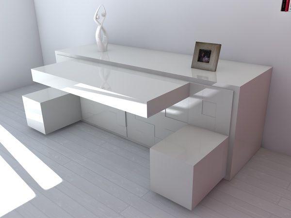 Platzsparende Möbel platzsparende möbel modernes sideboard pedro machado weiß muebles