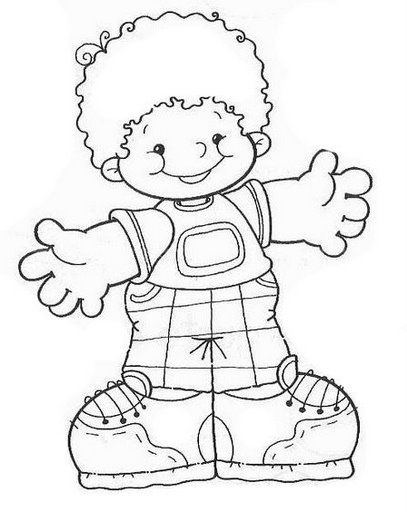 cute boy with open arms. | Digi Stamp | Pinterest | Niños, Dibujos ...