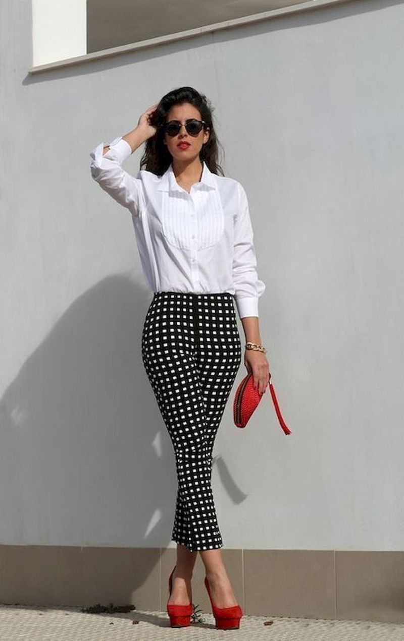 42 Casual Spring Work Outfits Ideas for Women #womensworkoutfits