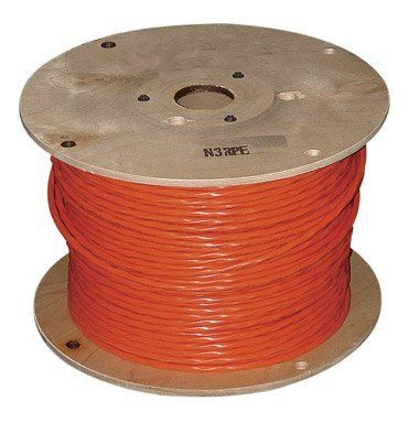 Southwire Non Metallic Building Wire By Southwire 379 99 With Bare Copper Ground 350 Ft 30 Amp 600 Volt Southwi Oven Range Clothes Dryer Orange Jacket