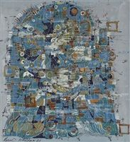 Massoud Arabshahi - Untitled no. 34) , 1986