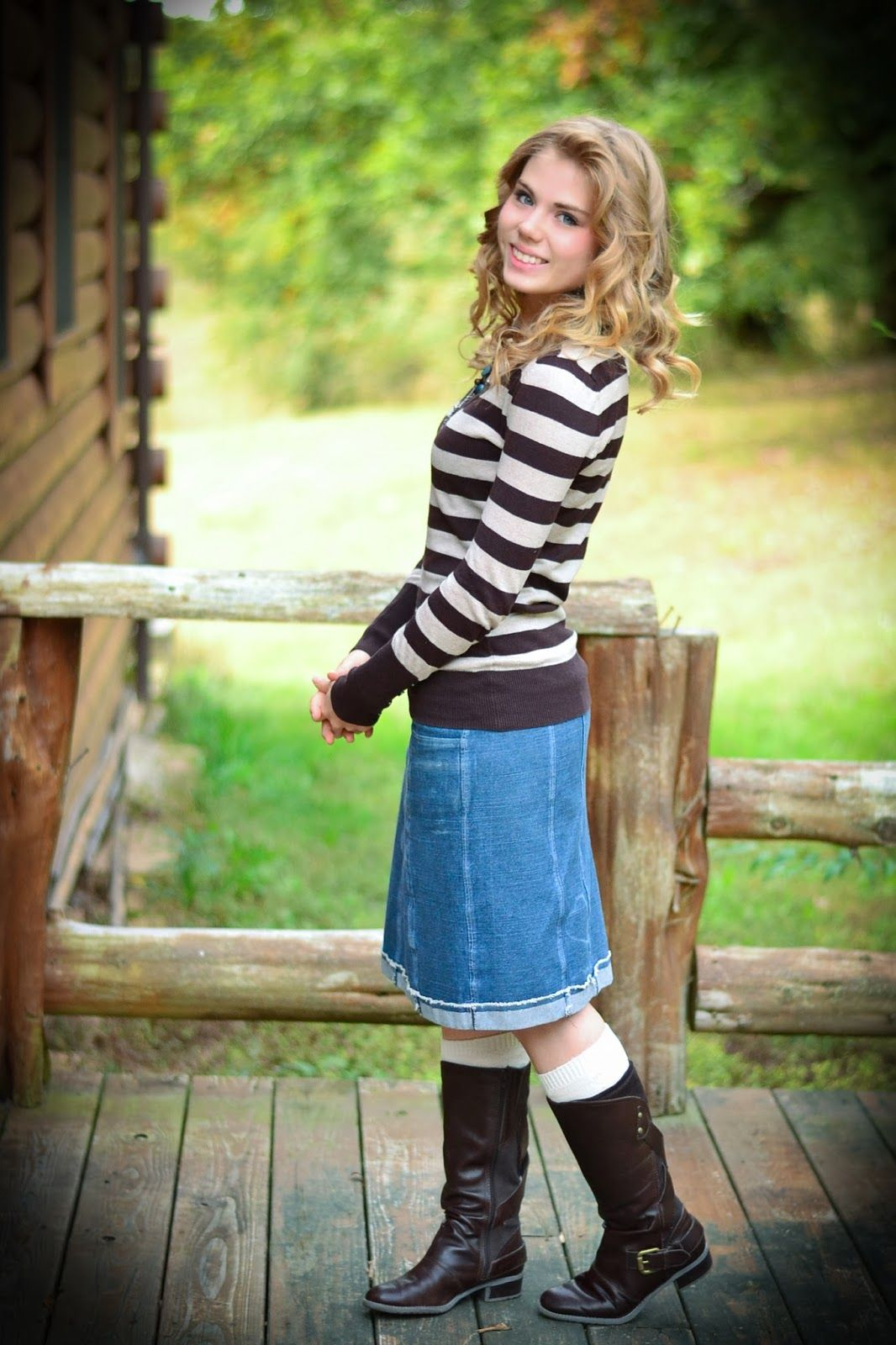 Fresh Modesty This Girl Has Tons Of Clothing Ideas