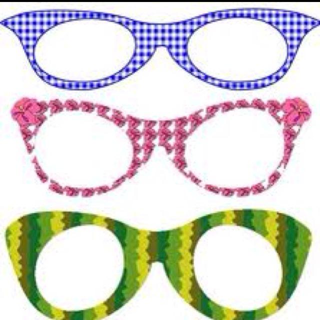 53322c809b Printable funky glasses frames