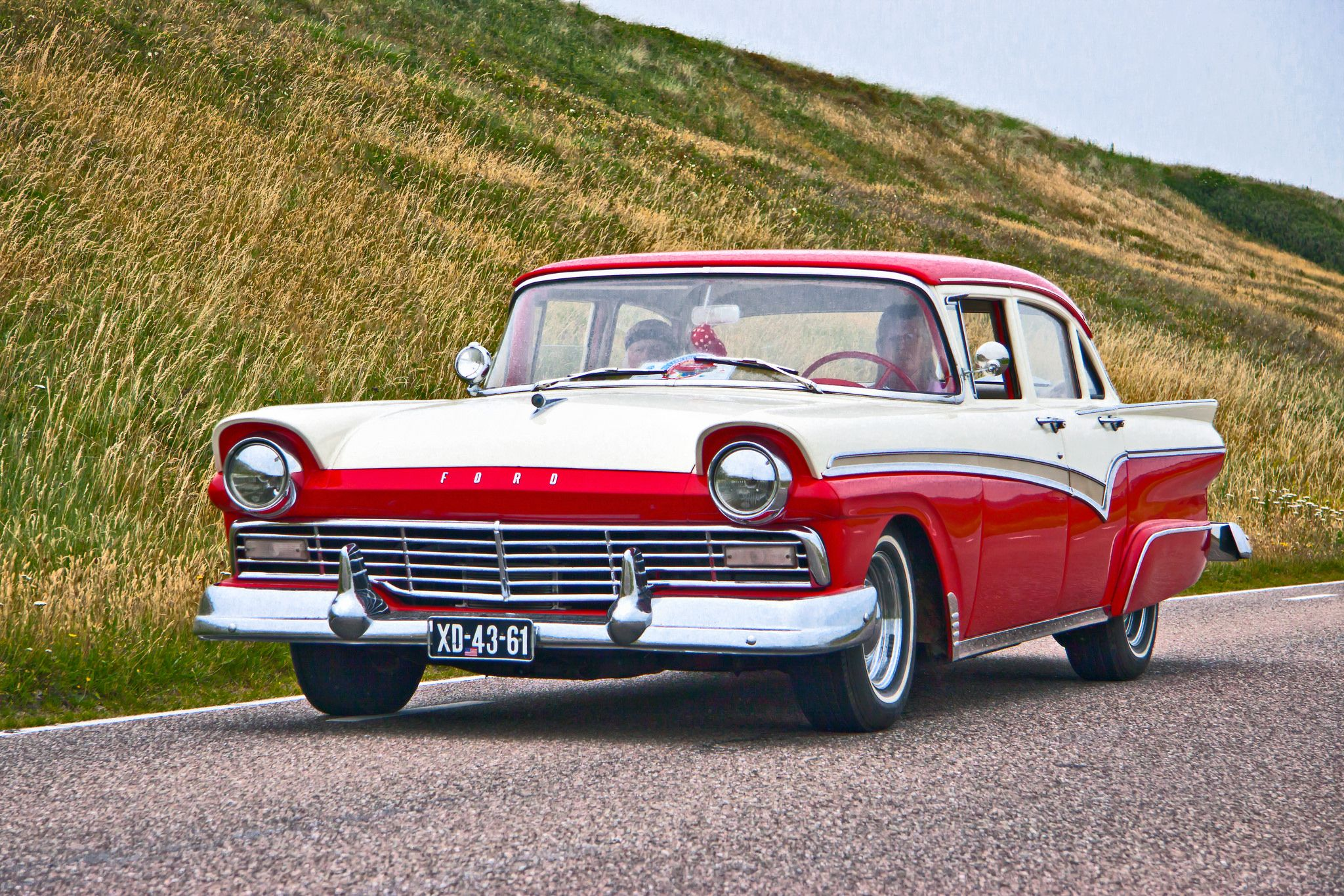 1956 ford customline wagon old car hunt - 1957 Ford Custom 300 Sedan Marion Crane Played By Janet Leigh Traded A