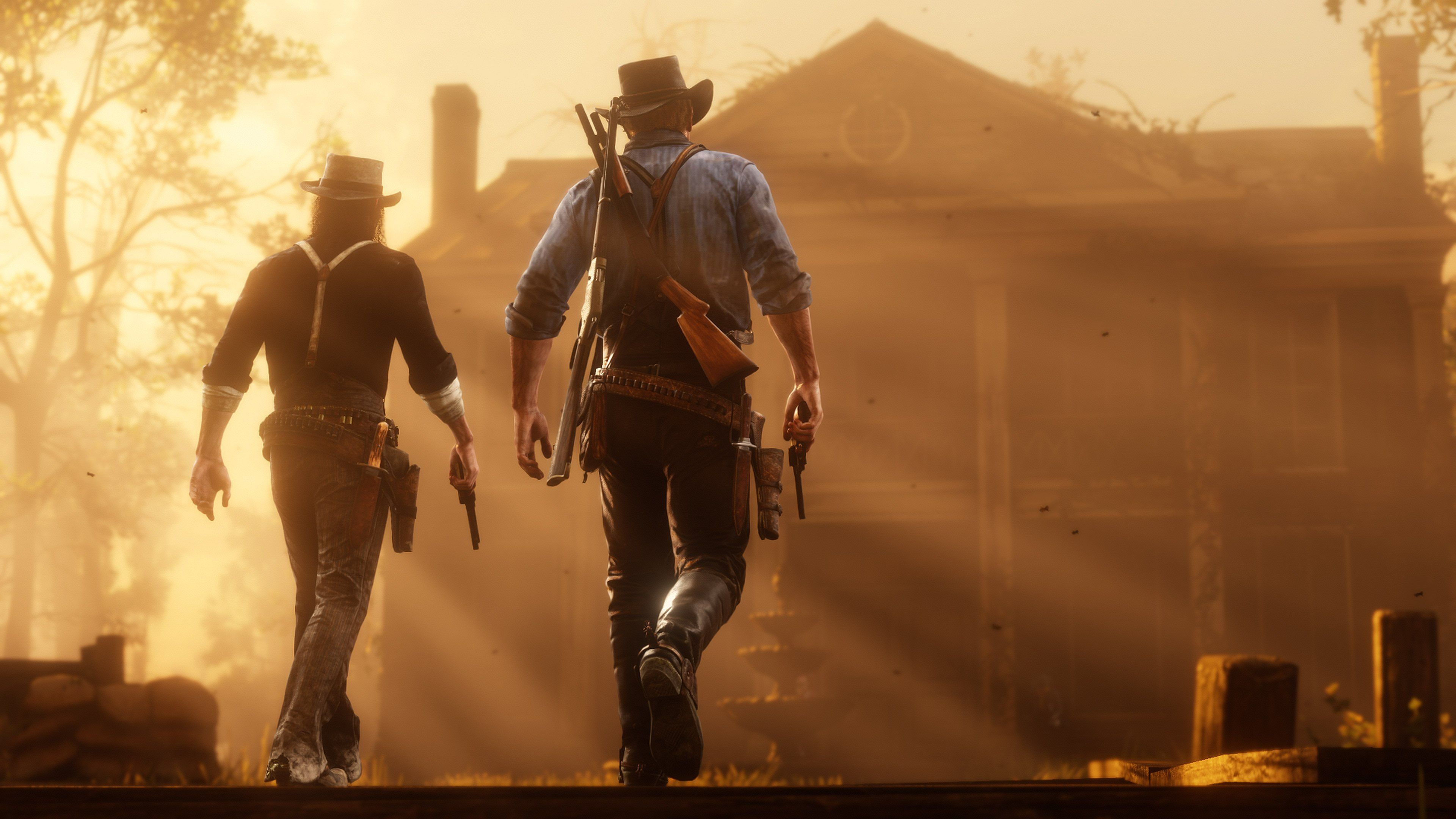 Arthur Morgan And John Marston Red Dead Redemption 2 Red