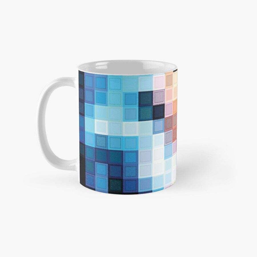 Pixelated Famous Movies 7 Of 100 Ceramic 11oz Coffee Mug Gift Idea For Family And Friends Fadeba Mugs Ceramics Coffee Mugs