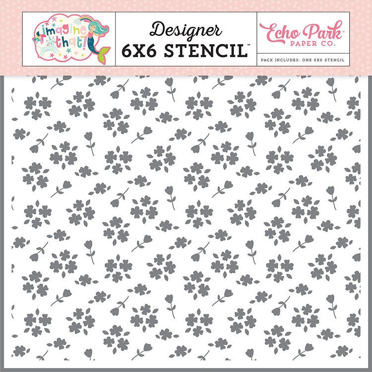 """Crafter/'s Workshop Template 6/""""X6/""""-Daisy Cluster"""