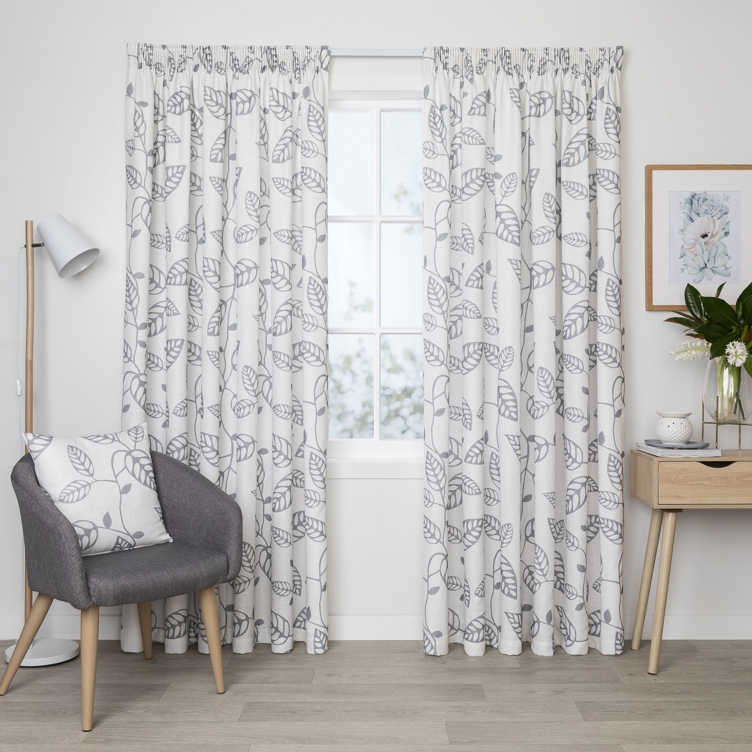 Indira Chalk Readymade Lined Pencil Pleat Curtain Curtain Studio Buy Curtains Online In 2020 Curtains Pleated Curtains Pencil Pleat