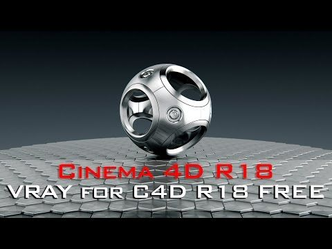 How To Download V-RAY 3 4 For Cinema 4D R18, R17, R16, | How