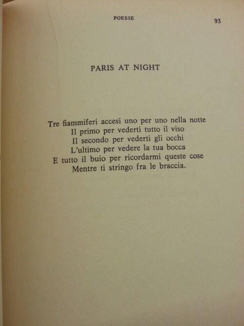 Prevert Tre Fiammiferi Accesi Nella Notte Paris At Night Prevert
