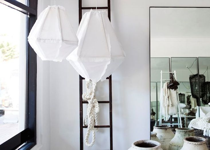 Lovey lovely enoki cumulus pendant light in les interieurs store remodelista