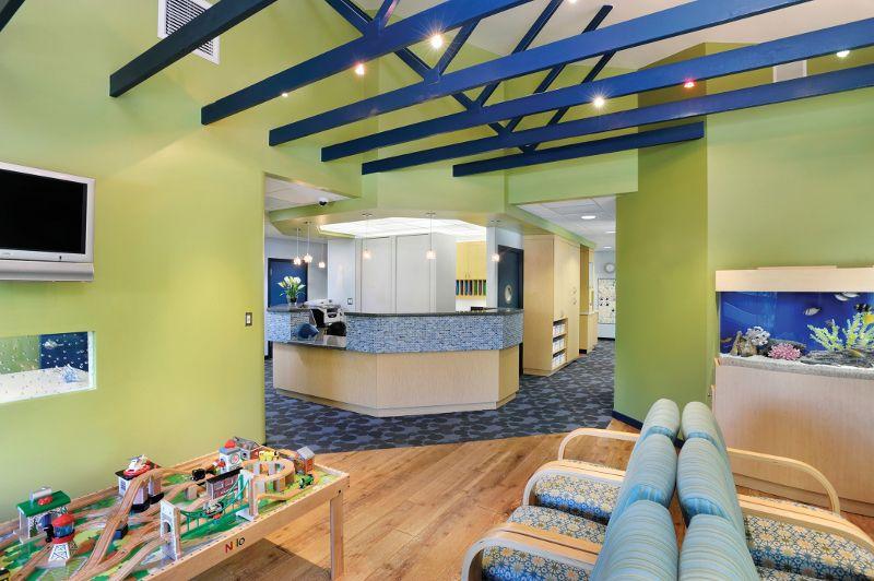 pediatric office design | pediatric dentistry office construction