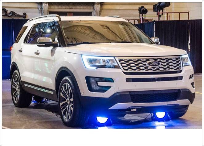 2016 Ford Explorer Platinum New Review