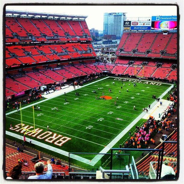 Firstenergy Stadium Home Of The Cleveland Browns Stadium Nfl Stadiums Nfl Football Stadium