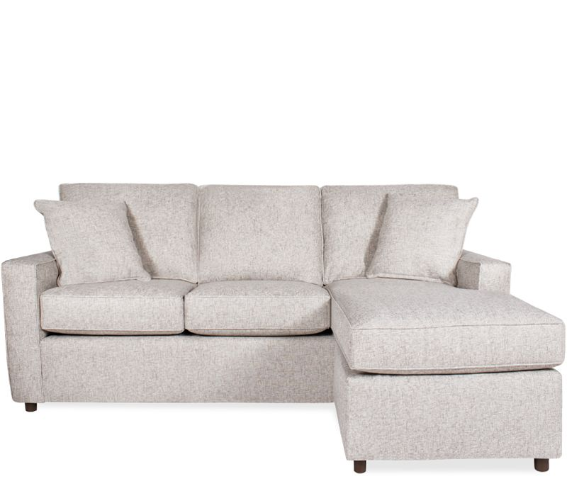 Solano Sofa Chaise With Ottoman Modestly Scaled Our Solano Collection Lends A Modern Feel With Clean Lines And Track Arms Chaise Sofa Boston Interiors Sofa