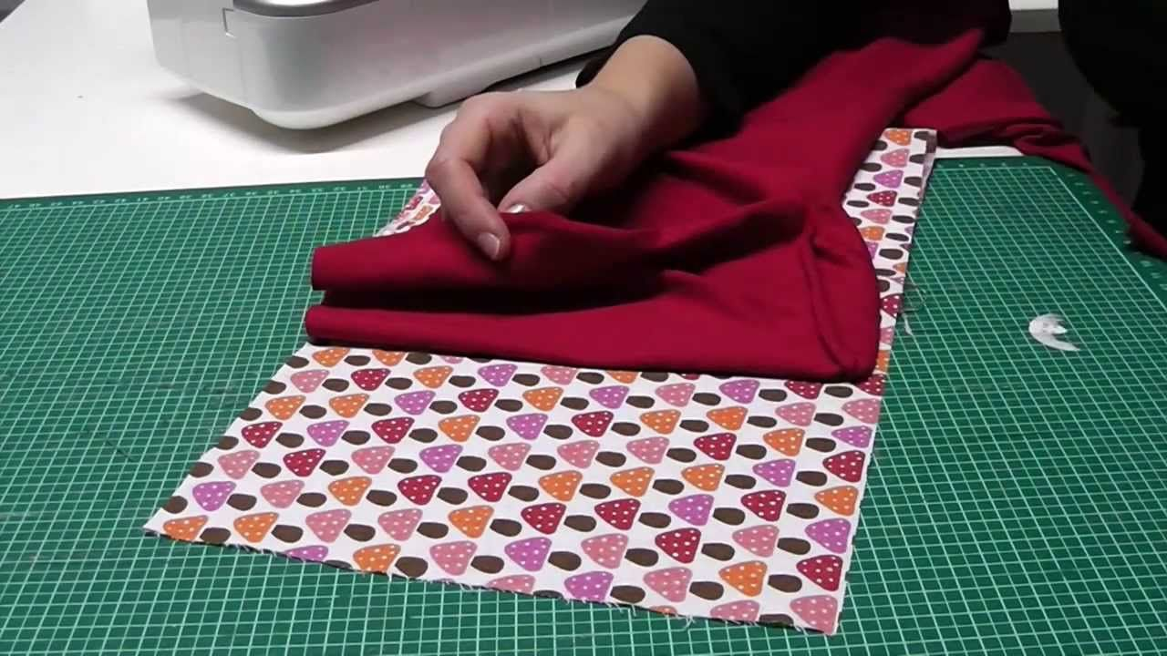 tutorial loop schal selber n hen anf nger diy sewing for beginners pinterest cards. Black Bedroom Furniture Sets. Home Design Ideas