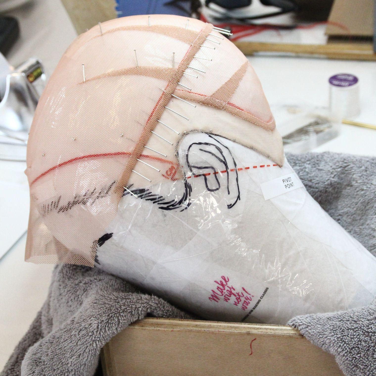 Foundation making wig master wigs postiche ltd wigs