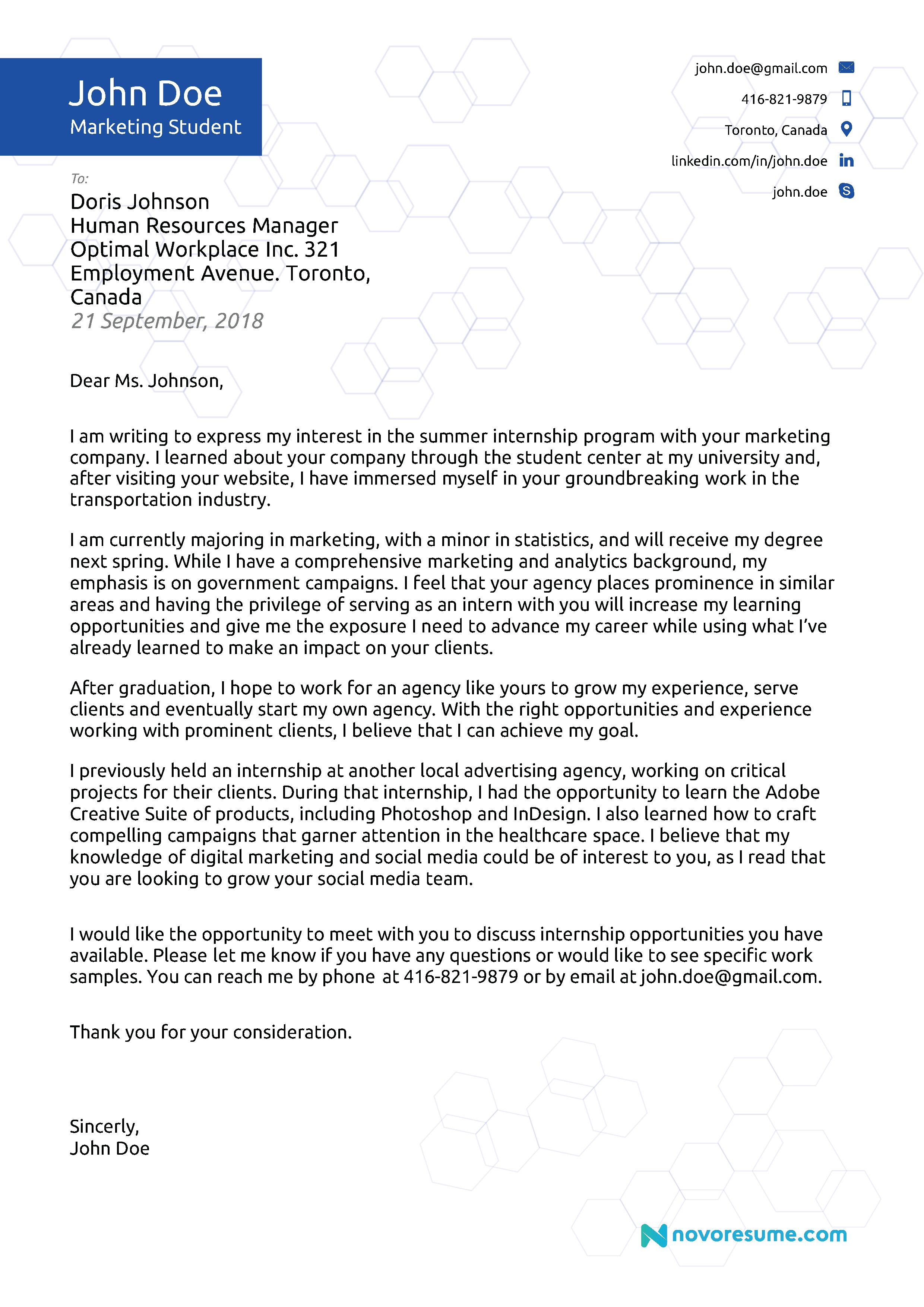 23 Server Cover Letter 2018 Examples Writing Tips