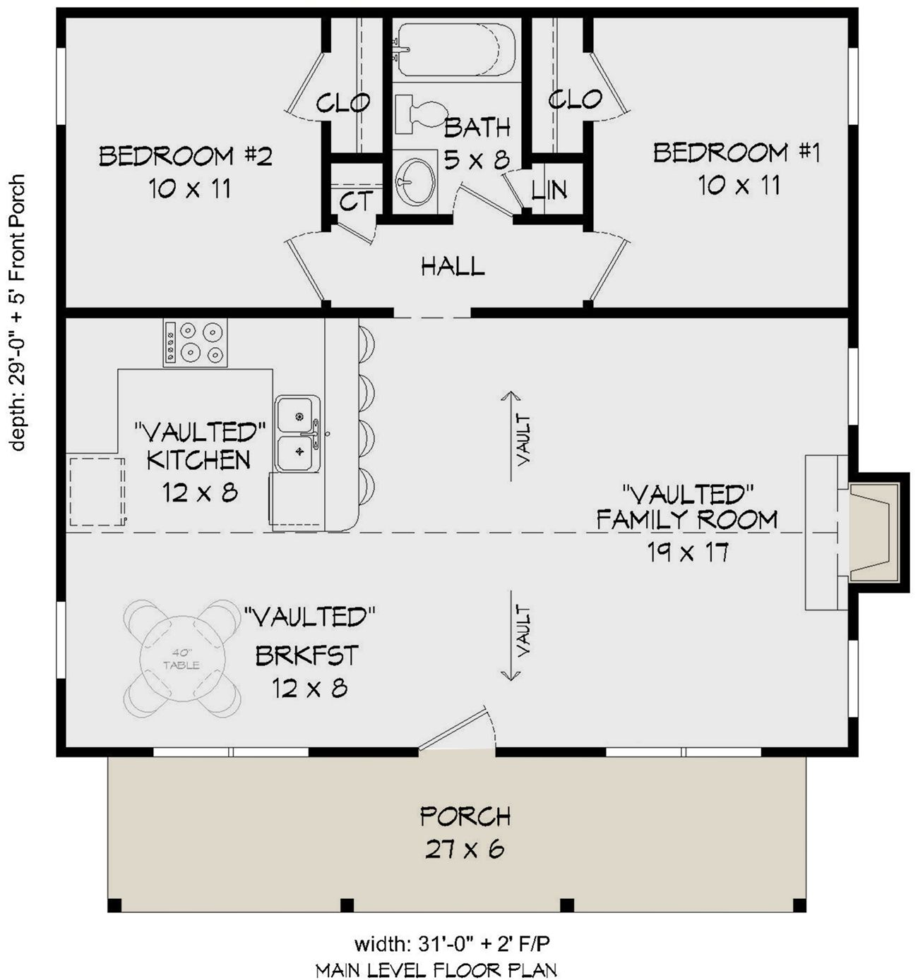 House Plan 940 00139 Cabin Plan 900 Square Feet 2 Bedrooms 1 Bathroom Floor Plans Cabin Plans Tiny House Floor Plans