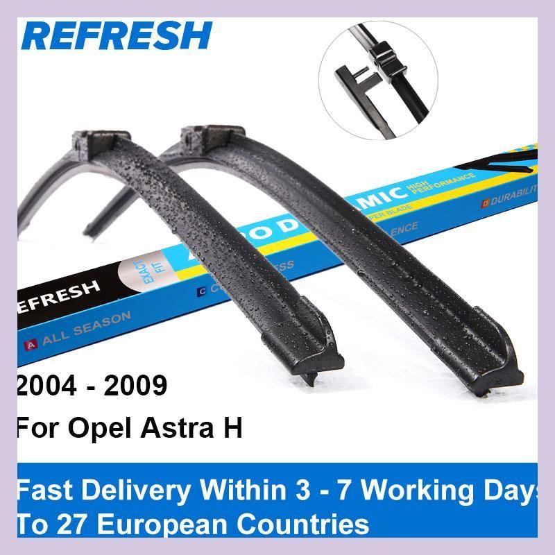 Refresh Wiper Blades For Opel Astra H Hatchback / Estate