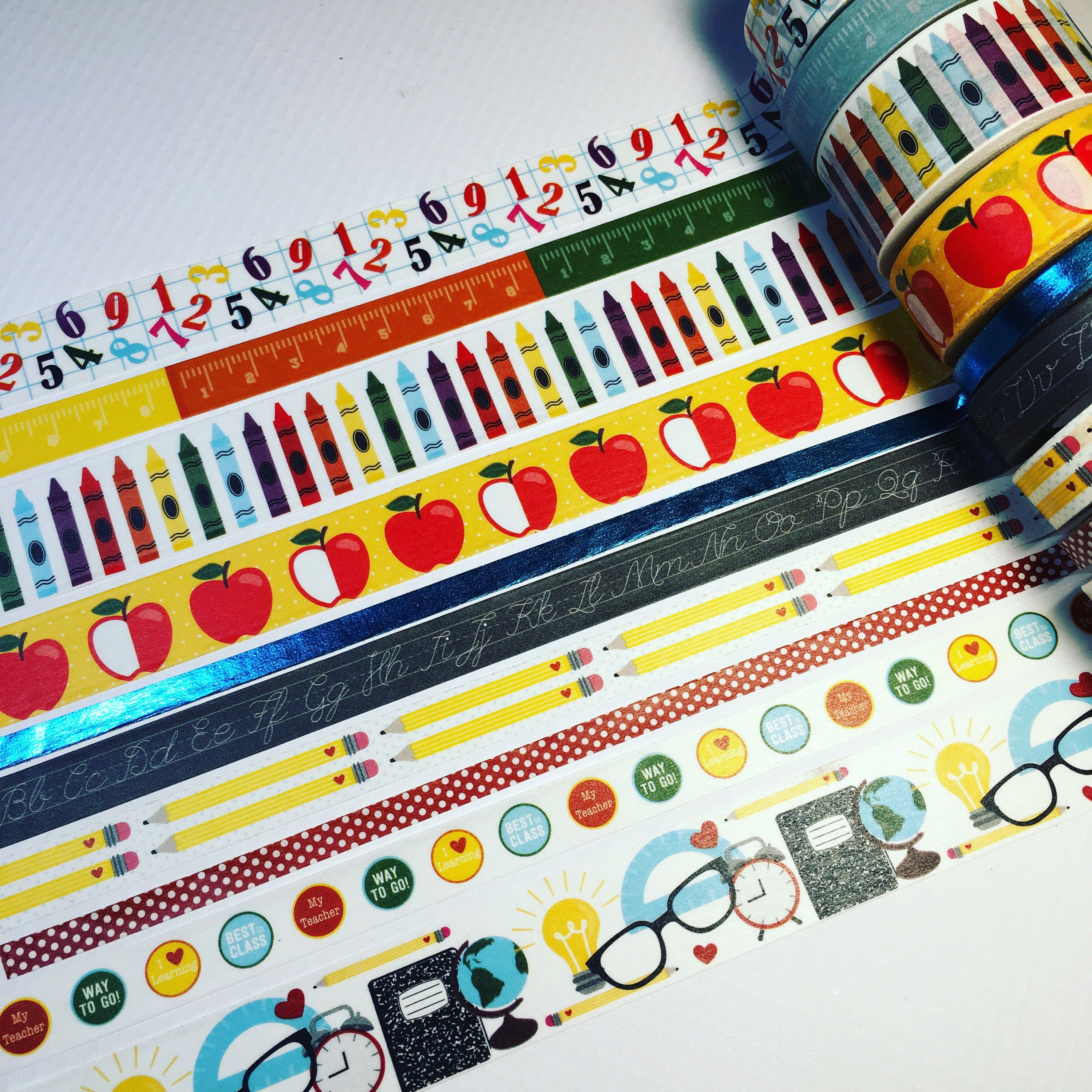 Washi Tape Spook Party Halloween Cupcakes Sample Lengths