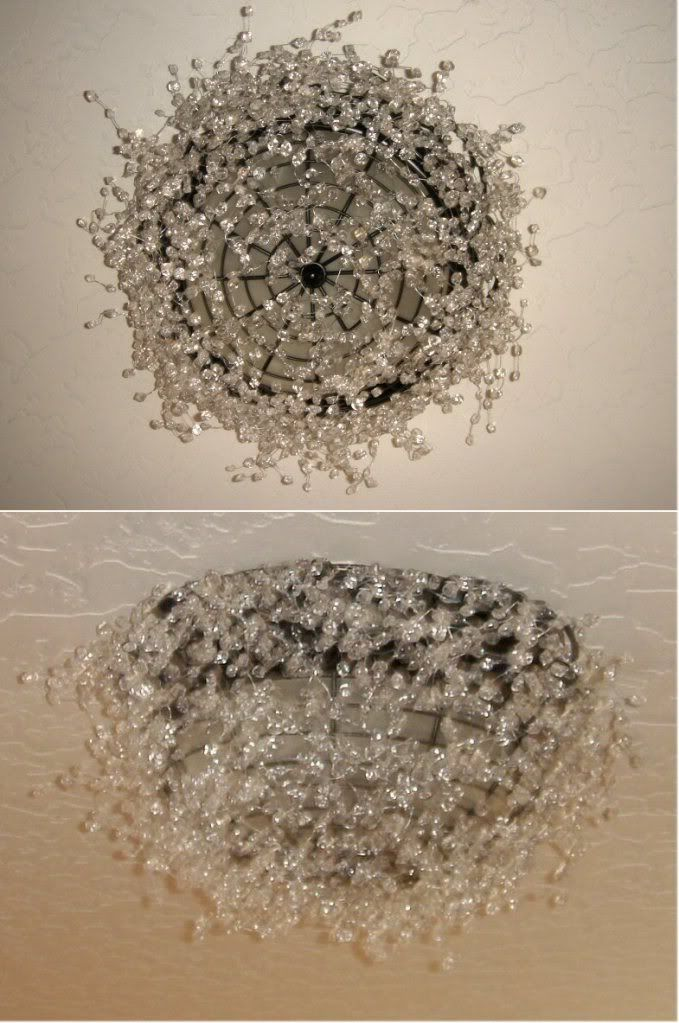 Upcycled Lighting Diy Chandelier Diy Crystals Upcycled Lighting