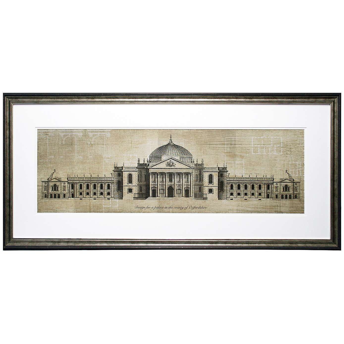 Architectural Prints Framed Dorma Architectural Framed Print Dunelm Products To