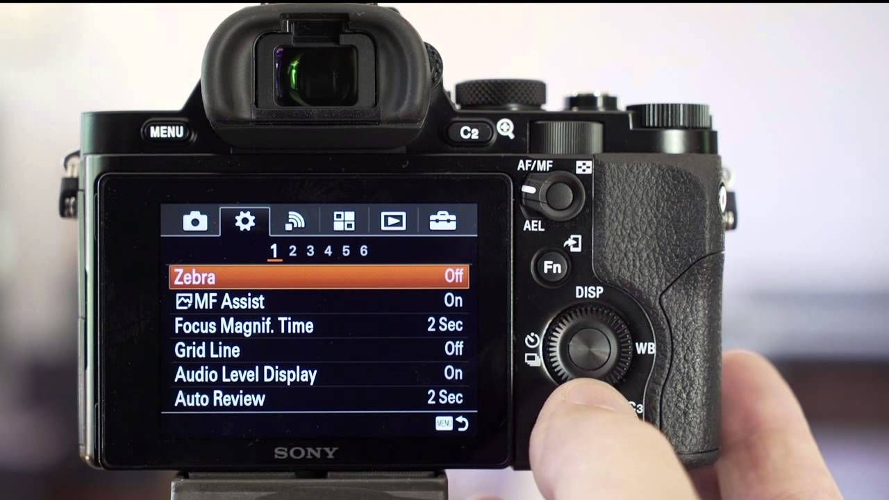 Get The Most Out Of Your Sony Alpha A7 A7r Camera With This Movie Tutorial Showing The Most Important Custom Settings As R Sony Digital Camera Sony Sony Alpha