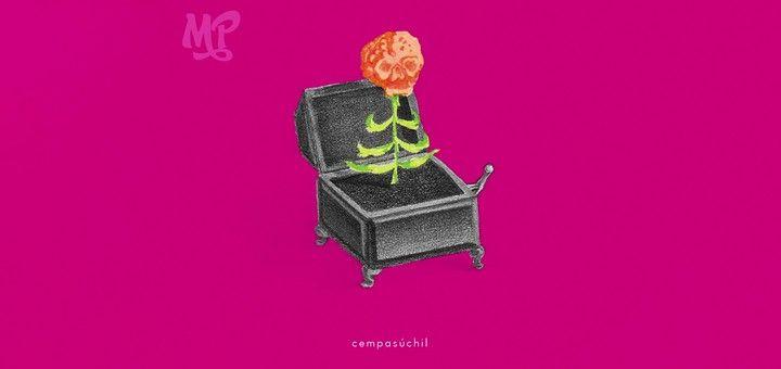 """""""No me verás llorar, hoy saldré a celebrar tu día de muerto"""" - Monsieur Periné y Rubén Albarrán en """"Cempasúchil"""", una canción sobre el Día de Muertos."""