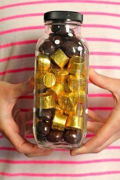 Jarra de doces | 33 presentes diy que você pode fazer em menos de 1 hora