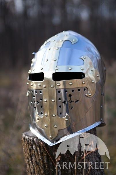 Medieval Sugarloaf Helmet Stainless in 2019 | Buhurt