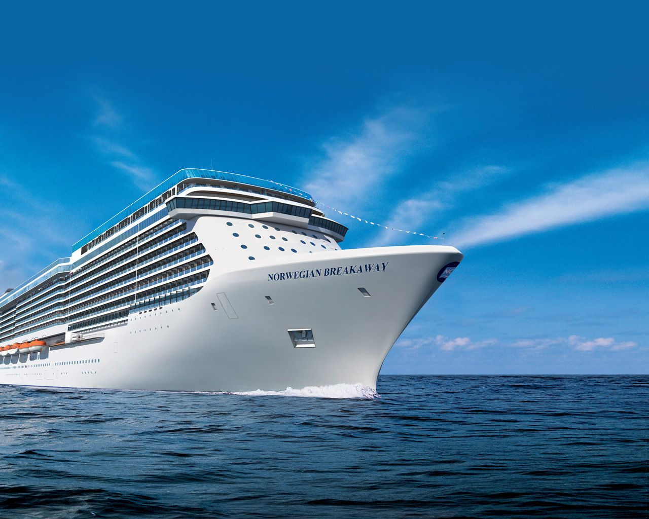 This Is The New NCL Breakaway Cruise Ship- Beautiful! It