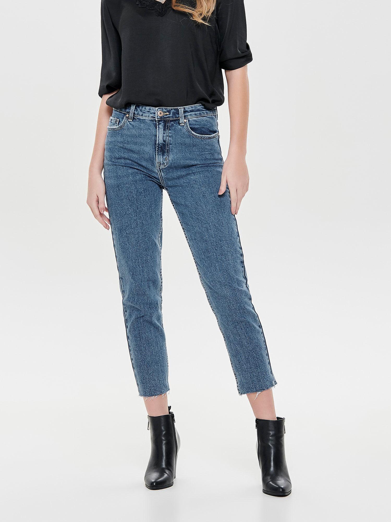 Photo of KUN jeans & # 39; EMILY & # 39; i blå denim
