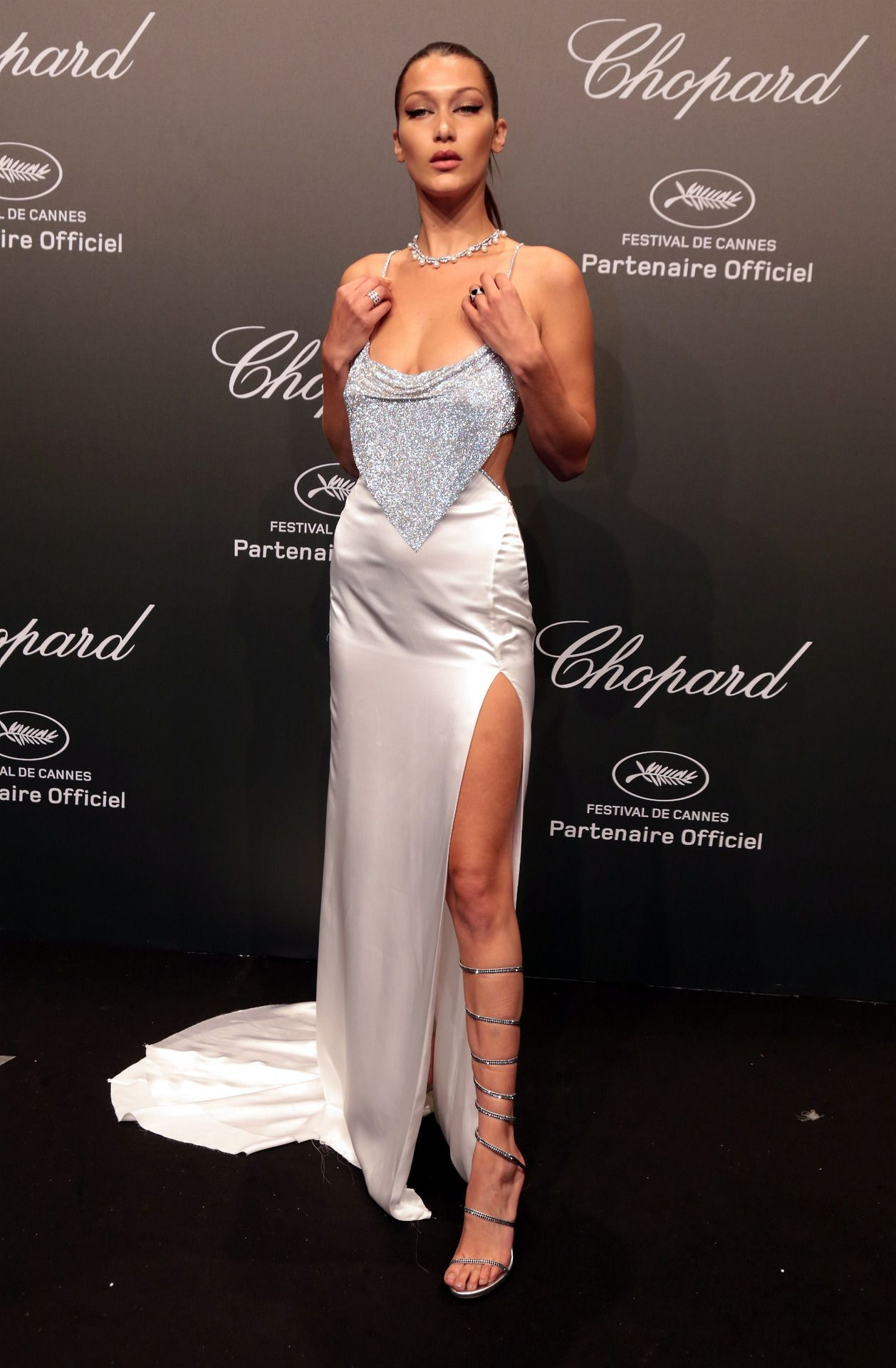 "midnight-charm  ""Bella Hadid at the Chopard Space Party 69171bef6bd1"