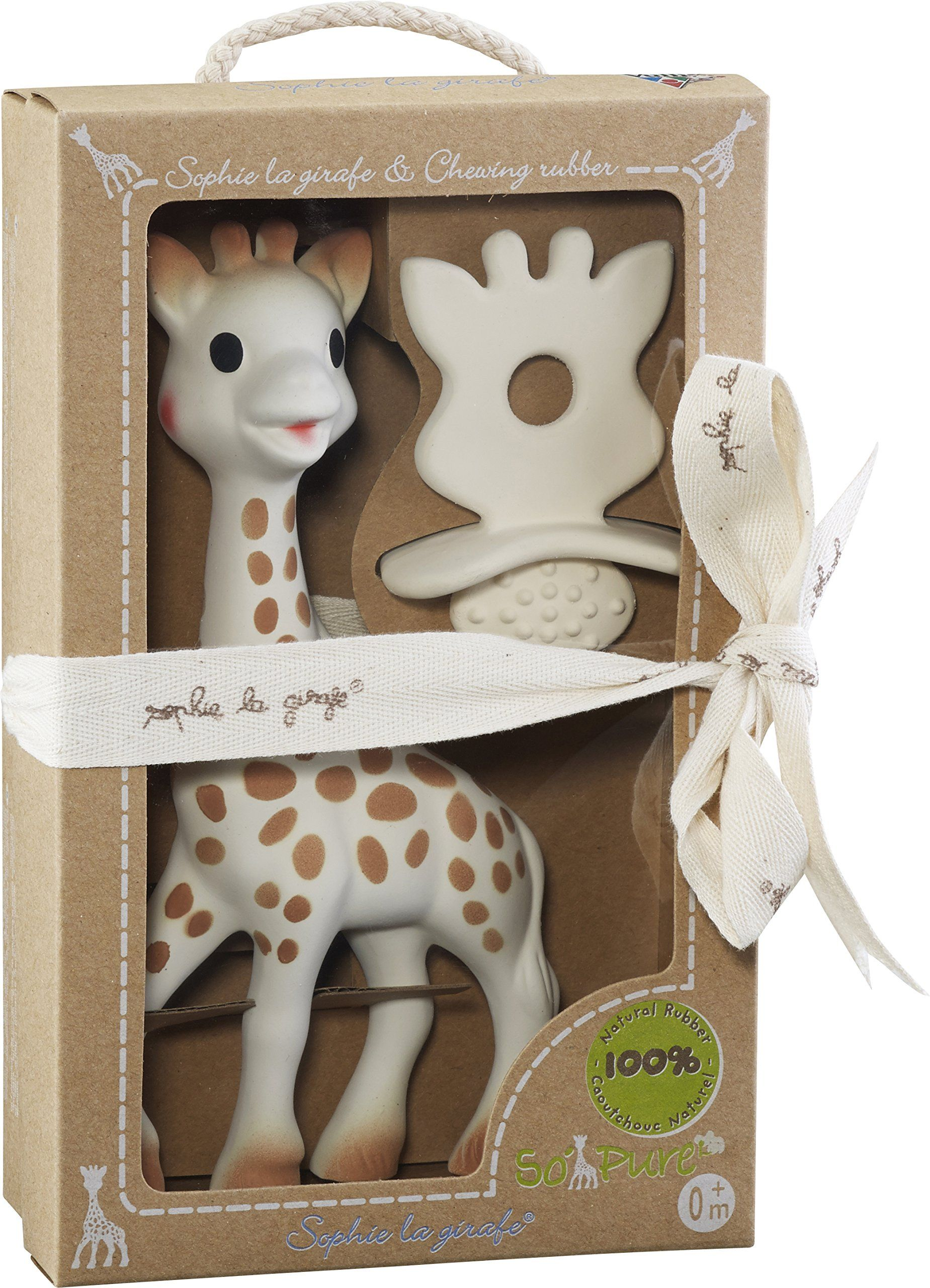 Vulli So'Pure Sophie la Girafe /& chewing rubber Sophie the Giraffe