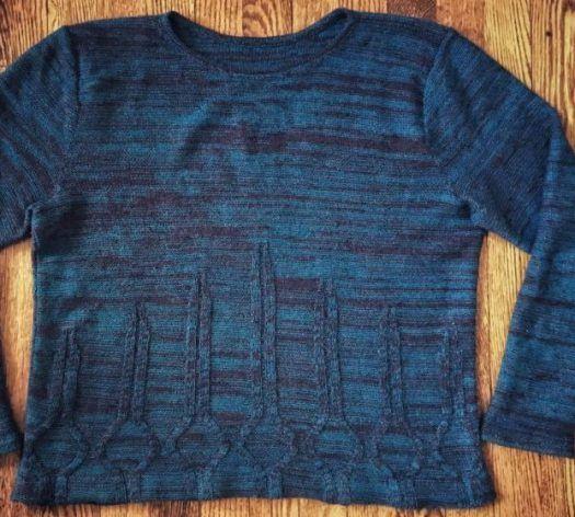 Machine Knit Pattern for Yamasaki Sweater | Machine ...