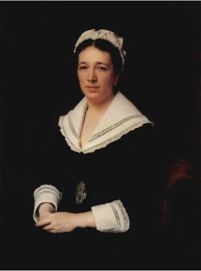 Ivan Kramskoy, Portrait of Vera Tretyakova, Wife of the Collector Pavel Tretyakov, 1876, oil on canvas (Tretyakov Gallery, Moscow)