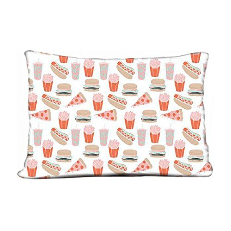 Decorative throw pillow case tiny hot pillow case
