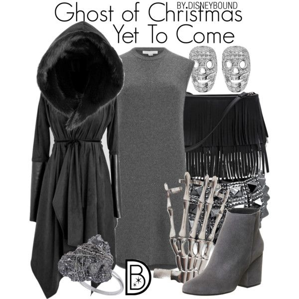 Ghost of Christmas Yet To Come | Disney inspired fashion, Disney inspired outfits, Character ...