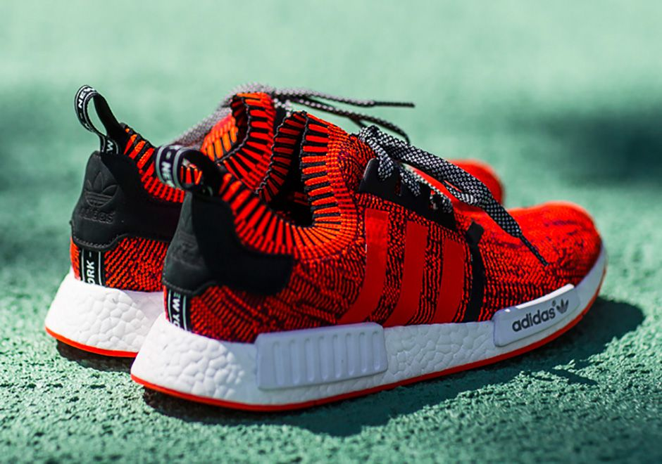 online store d1a1b c0706 adidas NMD Red Apple New York City Release Date | Wavy ...